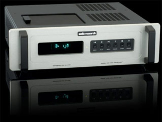 Front view of the Audio Research Audio Research REFERENCE CD8