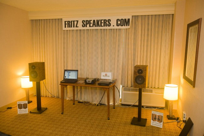 Fritz Speakers, Parasound, WyWires, Wyred 4 Sound