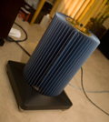 MSB M200 Platinum amp with custom amp stand