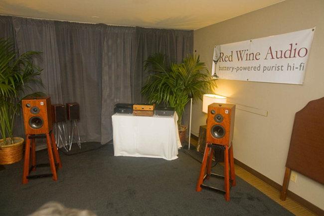 Harbeth speakers on Red Wine Audio gear